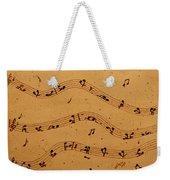 Kamasutra Music Coffee Painting Weekender Tote Bag