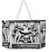 Kamasutra Scene In Khajuraho - India Weekender Tote Bag