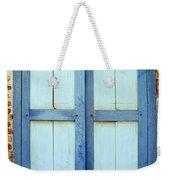 Kampot Blue Shutters Weekender Tote Bag