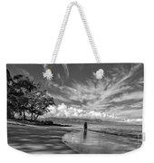 Kanahna Beach Maui Hawaii Panoramic Weekender Tote Bag