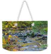 Kanaka Creek In The Fall Weekender Tote Bag