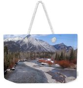 Kananaskis River Weekender Tote Bag