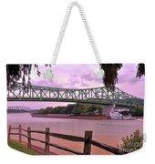 Kanawha River  Weekender Tote Bag