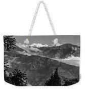 Kanchenjunga Monochrome Weekender Tote Bag