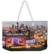 Kansas City 2 Weekender Tote Bag