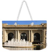 Kansas City Fountain At Union Station Weekender Tote Bag by Andee Design