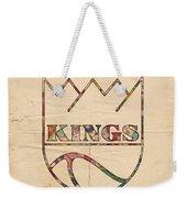 Kansas City Kings Retro Poster Weekender Tote Bag