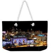 Kansas City Lights Weekender Tote Bag