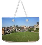 Kansas City Skyline And Park Weekender Tote Bag