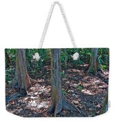 Kapok Trees Along The Trail In Manual Antonio National Preserve-costa Rica Weekender Tote Bag