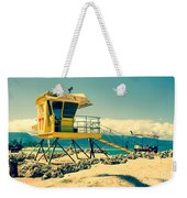 Kapukaulua Beach Lifeguard Station Paia Maui Hawaii  Weekender Tote Bag