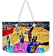 Karl Malone Weekender Tote Bag by Florian Rodarte