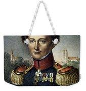 Karl Von Clausewitz (1780-1831) Weekender Tote Bag