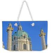 Karlskirche - Vienna Weekender Tote Bag