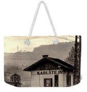 Karlstejn Railroad Shack Weekender Tote Bag by Joan Carroll