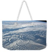 Karman Vortex Cloud Streets From Space Weekender Tote Bag