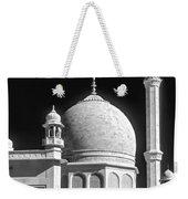 Kashmir Mosque Monochrome Weekender Tote Bag by Steve Harrington