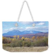 Katahdin From Staceyville 3 Weekender Tote Bag