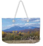 Katahdin From Staceyville 4 Weekender Tote Bag