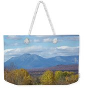 Katahdin From Staceyville 7 Weekender Tote Bag