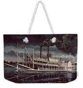 Spread Eagle Steamboat Night Weekender Tote Bag