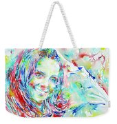 Kate Middleton Portrait.1 Weekender Tote Bag