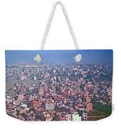 Kathmandu From The Airplane-nepal  Weekender Tote Bag