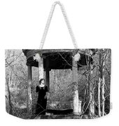Kathy In Gazebo 1979 Weekender Tote Bag