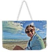 Katie And The Beach Weekender Tote Bag