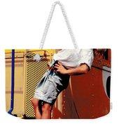 Katie Caboose Weekender Tote Bag