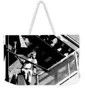 Katie-fire Escape Weekender Tote Bag