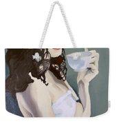 Katie - Morning Cup Of Tea Weekender Tote Bag