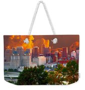 Katrina Storm Hits Cincinnati Weekender Tote Bag