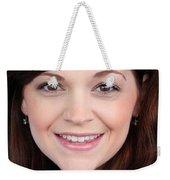 Katy Eyes Head Shot Weekender Tote Bag