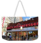 Katz's Delicatessan Weekender Tote Bag