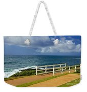 Kauai Beach - Morning Storm Weekender Tote Bag
