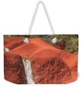 Kauai Red Dirt Waterfall Weekender Tote Bag