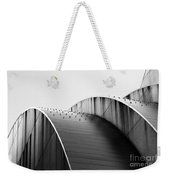 Kauffman Center Black And White Curves Photography Weekender Tote Bag