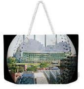 Kauffman Center For The Performing Arts Square Baseball Weekender Tote Bag by Andee Design