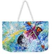 Kayak Crush Weekender Tote Bag by Hanne Lore Koehler