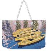 Kayak Dream Weekender Tote Bag