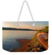 Kayak On The Hudson Weekender Tote Bag