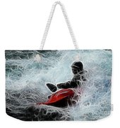 Kayaker 2 Weekender Tote Bag