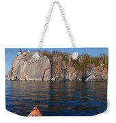 Kayaking Beneath The Light Weekender Tote Bag