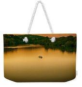 Kayaking On Lady Bird Lake Weekender Tote Bag
