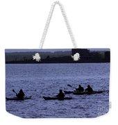 Kayaking Stonington Weekender Tote Bag