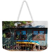 Kayaks Surfboards And Bikes - The Good Life Weekender Tote Bag