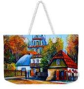 Kazimierz Dolny In Fall Weekender Tote Bag