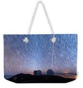 Keck Laser Piercing The Heavens 1 Weekender Tote Bag