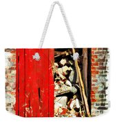 Keep All Fire Exits Clear Weekender Tote Bag